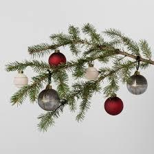 ornament set solid herringbone 8pc hearth with