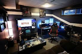 Gaming Desk Setup Ideas Badass Gaming Setup Must Have Gaming Pinterest Gaming