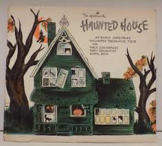 haunted house halloween decorations vintage hallmark haunted house centerpiece halloween party