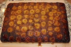 brown sugar banana upside down cake whenwebake take a bite out