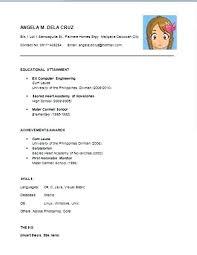 easy resume format basic resume sle basic resume format resume format and