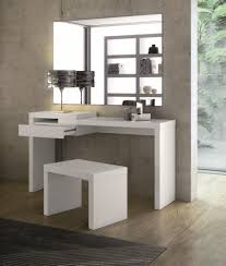 white contemporary dressing table white dressing table lacase mu