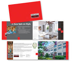 Home Decor Brochure Southport Capital Oversized Trifold