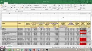 isr 2016 asalariados nomina y calculo del impuesto sobre la renta isr dgii youtube