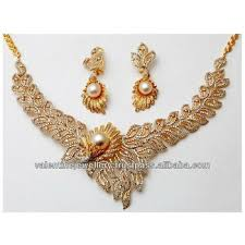 diamond pearl necklace set images Pearl gold diamond royal necklace set buy south sea pearl jpg