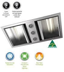 3 In 1 Bathroom Light Ixl Neo Bathroom Fan Heater With Dual Light Fan Wall Heaters