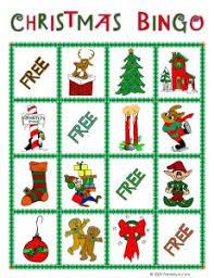 printable christmas bingo cards pictures kids christmas bingo cards to print printable bingo cards for