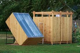 Simple Outdoor Showers - diy solar outdoor shower1 jpg