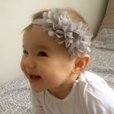 toddler headbands 1pc flower headband children headwear pearl infant toddler