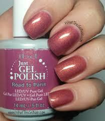 ibd road to paris plus more pink ibd gel nail polish colors ibd