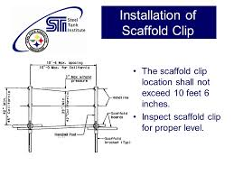 Osha Handrail Post Spacing Tank Builders Scaffold Guidelines Ppt Video Online Download