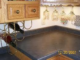 kitchen cabinet with wine glass rack wine and stemware rack