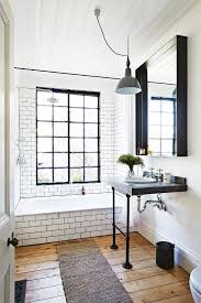 Small Bathroom Ideas Black And White by 25 Best Industrial Bathroom Ideas On Pinterest Industrial