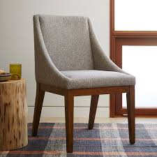 Curved Chair West Elm - West elm dining room chairs