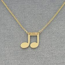 name charm necklace gold name engraved note charm necklace
