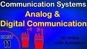 analog and digital communication communication system class 12