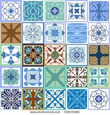 Portuguese Tiles Kitchen - spanish ceramic tile vectors download free vector art stock