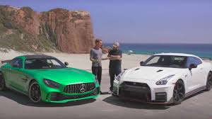 gt r vs gt r 2018 mercedes amg gt r takes on 2017 nissan gt r