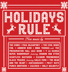 holidays rule album in stores october 30th 2012
