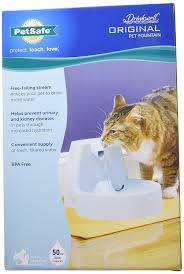 amazon com petsafe drinkwell original dog and cat water fountain