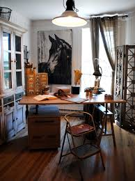 Easy And Practical Industrial Home Office Design Ideas - Best home office designs