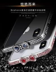 bling ribbon luxury shiny rhinestone diamond bling ribbon metal bumper