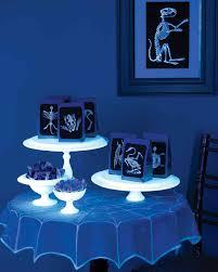 blacklight halloween party ideas glow in the dark halloween martha stewart
