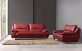 used red leather sofa 2018 popular red leather couches and loveseats