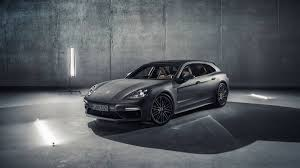 new porsche 4 door 2018 porsche panamera sport turismo makes its geneva motor show