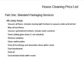 House Cleaning Estimate Form by 168535 423x289 House Cleaning Price List Thumb1 Jpg