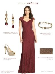 burgundy dress for wedding burgundy lace gown