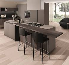 Kitchens  Contemporary Kitchen With Stunning Kitchen Breakfast - Kitchen breakfast bar tables