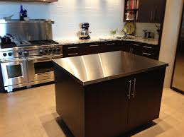 Kitchens With Stainless Steel Countertops Landscape Choosing Countertops Stainless Steel Diy Kitchen