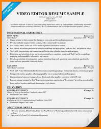 Editor Resume Sample by 7 Film Editor Resume Care Giver Resume
