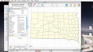 Map Of South Dakota Counties Magic Maps Tutorial Historical South Dakota Counties Youtube