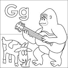 lowercase letter g coloring page lowercase letter g coloring sheets babysplendor com