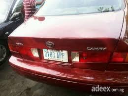 toyota lowest price car low price cheapest neat nigeria used toyota camry biglight