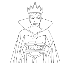 the evil queen coloring page by helsa fan club on deviantart