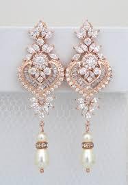 gold bridal earrings chandelier gold bridal earrings chandelier wedding earrings bridal