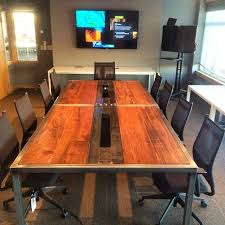 amazing rustic conference table reclaimed wood tables u2013 valeria