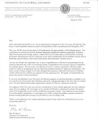 how a rejection letter from uci and ucsd looks like youritguy u0027s blog