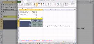 how to calculate interest rate risk in microsoft excel microsoft