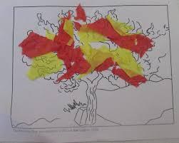 moses and the burning bush craft vbs pinterest burning bush