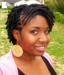 short natural twist braids hairstyle picture magz