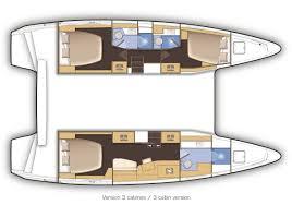 Luxury Rv Floor Plans by Lagoon 42 3 Cabin Layout Catamaran Layouts Pinterest