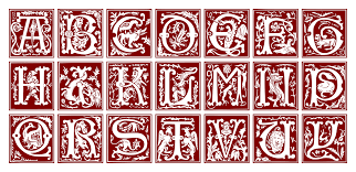 file ornamental alphabet 16th century svg