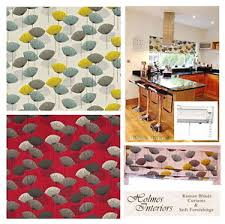 How To Measure Fabric For Roman Blinds Sanderson Dandelion Clocks Fabric Roman Blinds Made To Measure Ebay