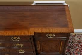 drexel heritage banded mahogany 18th century classics dining room