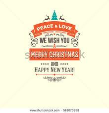 retro vintage merry christmas greeting card stock vector 121613257