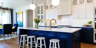 Blue Kitchen Ideas Comfortable And Easy Kitchen Decorating Ideas Budget 23 Blue
